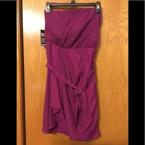 NWT Express strapless formal dress size 6
